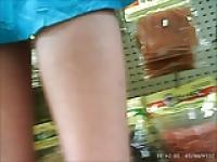 phone store upskirt ,bz girl