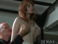 BDSM XXX Young sub student gets an anal pounding from tough Master