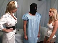 Nurse Handjob: Slave Training