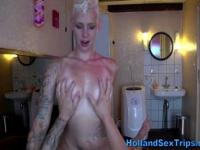 Euro hooker fucked and facialized