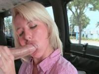 Cunt doggy style fucking in the bus with slutty amateur