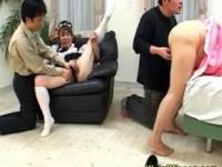 Asian grannies naked pussies played with