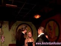 Amsterdam real whore gets eaten out