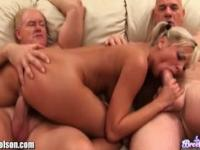 I'm broke so I fucked 2 old guys for 100$