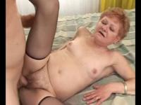 GILF granny mature banged by young dude