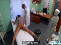 Hot milf gets fucked twice in a hospital