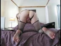 Carmen 46 years Solo in fishnet stockings