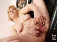 Maman mature amateur propage chatte charnue