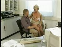 Hot Fuck in Office BVR