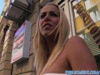 PublicAgent Hot Hungarian blonde gets fucked in a restaurant toilet