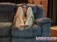 Lelu Love-Foot Slut Jerkoff Encouragement