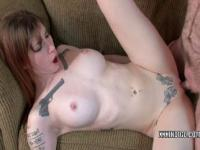 Petite coed Indigo Augustine is getting her twat fucked