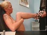 so sexi german footjob shoejob
