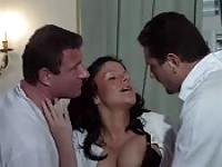Joy Karins fucked by two doctors