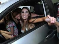 Mofos - Great teen orgy in a car