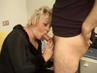 Mature mom is craving for cock - Telsev