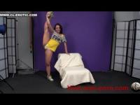 Valeria Hot Flexible Gymnast