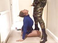 Camo Zentai CD & Tan Encasement playtime