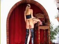 Dominatrix Mistress Lady Samantha long legs femdom