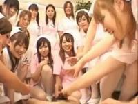 Real asian nurses enjoy intercourse on top part4