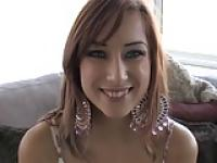 Beautiful Redhead Teen First Time on Camera