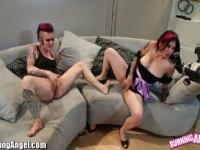 Joanna Angel and Alt Babe Masturbate together