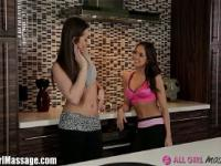 Dani Daniels and Sara Luv get Oily!