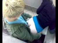 Blonde Teen Slut Getting Fucked in a Public Toilet - @Seductive_Sluts