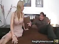 Tanya Tate gives special fucking attention to young man