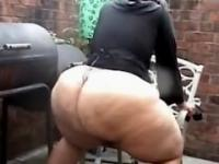 DAMN Thats Huge & Large BBW Ebony Big Phat Monster Azz WOW