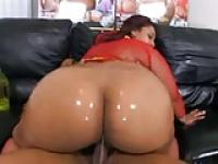 WOW Thats Huge & Large BBW Curvy Ebony Big Phat Oily Azz x$x