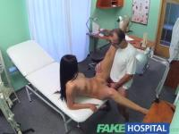 FakeHospital Doctors cock and the promise of a pay rise stop sexy nurse from quitting her job