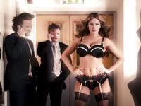 Kelly Brook Sexy Underwear Slow-Mo (HD)