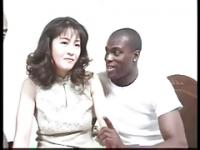 Hairy Japanese Milf Fucked by Bbc