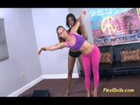 Kelsi Monroe as real Flexi Doll