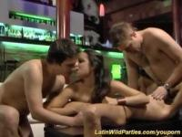 latina fuck party