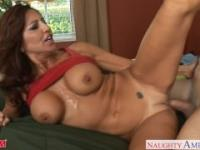 Busty mom Tara Holiday fucking