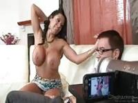 Seduced and filmed by a MILF