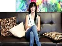 Latina on the casting couch
