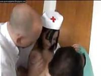 Latin nurse at home