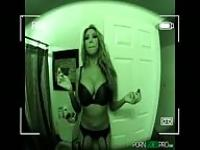 Kayla Carrera in POV with the GoPro camera