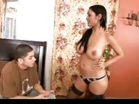 Indian MILF seduces her son's friend
