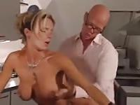 Intense fuck with a stunning German girl
