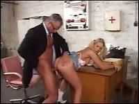 Forcing my secretary to fuck with me