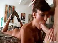 MILF Veronica Avluv sucking and fucking hard