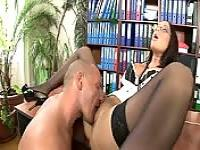 Angelica Heart, the office slut