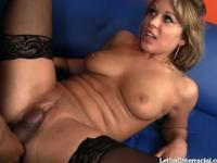 Pretty Blonde Takes a Pretty Big Black Dick