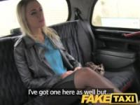 FakeTaxi Blonde fucked hard twice in one day