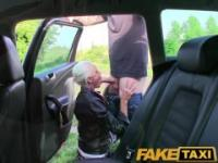 FakeTaxi Real amateur teen drops panties and lets taxi driver fuck her