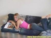 Hot Blonde homemade Sextape